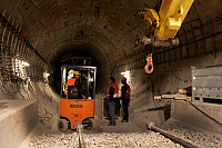0234703 © Granger - Historical Picture ArchiveTRANSPORTATION.   Federal Republic of Germany Berlin Mitte - subway U 55 under construction - 23.04.2009.