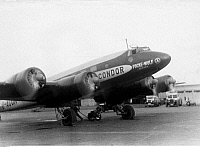 0235267 © Granger - Historical Picture ArchiveTRANSPORTATION.   Germany - Bremen: Focke-Wulf (FW) 200 Condor airplane,.