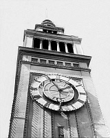 0236025 © Granger - Historical Picture ArchiveGEOGRAPHY.   USA - Kalifornien California - San Francisco: Clock Tower at San Francisco Ferry Building - Photographer: Sennecke - Published by: Der heitere Fridolin 24/1923 Vintage property of ullstein bild.