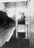 0236184 © Granger - Historical Picture ArchiveGEOGRAPHY.   Steamship Columbus of the shipping company Norddeutscher Lloyd. Interior design. Area for sleeping and washing at a third class cabin. - Photographer: Heinrich Engelke - 1924 Vintage property of ullstein bild.