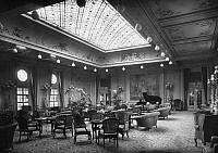 0236374 © Granger - Historical Picture ArchiveGEOGRAPHY.   Steamship Columbus of the shipping company Norddeutscher Lloyd. Public saloon of the first class. - Photographer: Heinrich Engelke - 1924 Vintage property of ullstein bild.