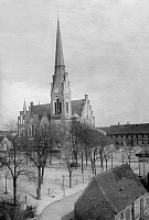 0236881 © Granger - Historical Picture ArchiveGEOGRAPHY.   German Empire Kingdom Prussia - Brandenburg Provinz (Province) - Berlin: Friedrichshagen: Church - Published by: 'Berliner Morgenpost' Mai/1903 Vintage property of ullstein bild.