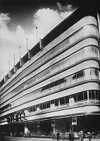 0236946 © Granger - Historical Picture ArchiveGEOGRAPHY.   German Empire Kingdom Prussia - Rheinprovinz Rhine-Province: Wuppertal: Department store Michel, built 1929-1930 by architects: Emil Fahrenkamp and Georg Schaefer - Photographer: Keystone - 1930 Vintage property of ullstein bild.