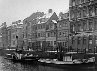 0237929 © Granger - Historical Picture ArchiveGEOGRAPHY.   Germany, Berlin, Fischerinsel, Houses at the Friedrichsgracht - about 1925.