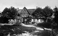 0238374 © Granger - Historical Picture ArchiveGEOGRAPHY.   Germany, Schleswig-Holstein, Niebuell in North Frisia, Old parsonage, date unknown, around 1930, photo by E. Thomsen.