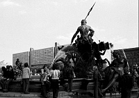 0238438 © Granger - Historical Picture ArchiveGEOGRAPHY.   Germany - Berlin - Ost-Berlin East Berlin: Fountain Neptunbrunnen - 20.05.1977.