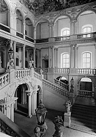 0238578 © Granger - Historical Picture ArchiveGEOGRAPHY.   Germany, Bavaria, Upper Franconia: Weissenstein castle in Pommersfelden, interior view, date unknown, around 1958, photo by Hans Retzlaff.