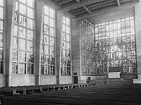 0238843 © Granger - Historical Picture ArchiveGEOGRAPHY.   Germany, Dortmund. Nicolai Church built by Pinno and Grund. Picture by Frankl 1930.