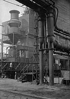 0238848 © Granger - Historical Picture ArchiveGEOGRAPHY.   Germany, coal industry, coking plant, facilities for cooling the coke, date unknown, probably 1930ies.