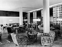 0238991 © Granger - Historical Picture ArchiveGEOGRAPHY.   Germany, hotel lobby, Casino Hotel, interior view, design: Emil Fahrenkamp, date unknown, around 1940, photo by B. Machtans.