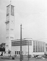 0239032 © Granger - Historical Picture ArchiveGEOGRAPHY.   Germany, Dortmund. Nicolai Church built by Pinno and Grund. Picture by Frankl 1930.