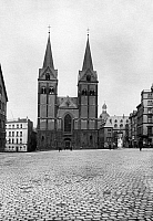 0239314 © Granger - Historical Picture ArchiveGEOGRAPHY.   Germany, Rhineland-Palatinate, Koblenz, the church St. Florin, date unknown, around 1930, photo by Transocean-Gesellschaft.
