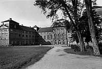 0239587 © Granger - Historical Picture ArchiveGEOGRAPHY.   Germany, Bavaria, Lower Franconia: the castle in Kleinheubach, garden front, date unknown, around 1958, photo by Max Goellner.