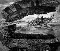 0239605 © Granger - Historical Picture ArchiveGEOGRAPHY.   Germany, Bavaria, Franconia, Nuremberg: Historic view, 17th century.