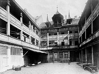 0239612 © Granger - Historical Picture ArchiveGEOGRAPHY.   Germany, Bavaria, Franconia, Nuremberg: Plobenhof around 1900.