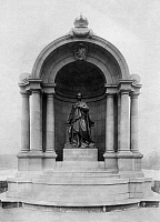 0239665 © Granger - Historical Picture ArchiveGEOGRAPHY.   Monument to Ludwig II. King of Bavaria - Photographer: Ferdinand von Mueller - - undated Vintage property of ullstein bild.