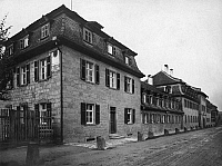 0239713 © Granger - Historical Picture ArchiveGEOGRAPHY.   Germany, Bavaria Lower Franconia, Bad Kissingen: Upper Saline (Obere Saline) where Otto von Bismarck stayed as a patient in the health resort, date unknown, probably 1920, photo by Verlag-der-Neuen-Photogr.-Gesellschaft.