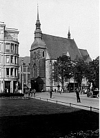 0239747 © Granger - Historical Picture ArchiveGEOGRAPHY.   Germany, Saxony, Lusatia, Goerlitz: Church of Our Lady (Frauenkirche), date unknown, around 1930, photo by Transocean-Gesellschaft.