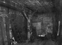 0239852 © Granger - Historical Picture ArchiveGEOGRAPHY.   German Empire - Hamburg Freie- und Hansestadt (Hamburg Free and Hanseatic city) - Hamburg Old storehouse in Hamburg. Storage space with fat wooden beam. - Photographer: Max Hirsch - 1920 Vintage property of ullstein bild.