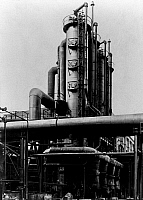 0242096 © Granger - Historical Picture ArchiveINDUSTRY.   I.G. Farbenindustrie A.G (IG Farben) - chemical plant. Merseburg: part view of the ammonia plant. 1931.