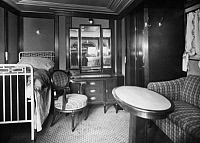 0242297 © Granger - Historical Picture ArchiveECONOMY.   Steamer Albert Ballin of the Hamburg-America line. Cabin of the first class. published by: B.I.Z. 24/1923 - 1923 Vintage property of ullstein bild.