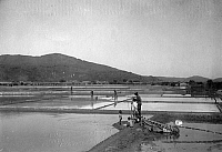 0242381 © Granger - Historical Picture ArchiveECONOMY.   : Formosa/Taiwan - economy: salt field (photographer: Franz-Otto-Koch undated, but definitely in the years 1910-14).