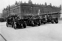 0242430 © Granger - Historical Picture ArchiveECONOMY.   Germany, Berlin, parade of the fire department, on 13.02.1914.