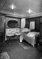 0242489 © Granger - Historical Picture ArchiveECONOMY.   Steamer Albert Ballin of the Hamburg-America line. Cabin of the first class. published by: B.I.Z. Nr. 24/1923 - 1923 Vintage property of ullstein bild.