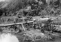 0242758 © Granger - Historical Picture ArchiveECONOMY.   : Formosa/Taiwan - economy: bamboo water wheel to water paddy fields (photographer: Franz-Otto-Koch undated, but definitely in the years 1910-14).