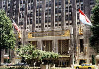0242803 © Granger - Historical Picture ArchiveECONOMY.   USA - New York Manhattan: 'Waldorf-Astoria' - Hotel at Park Avenue - 01.06.1997.
