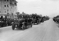 0242819 © Granger - Historical Picture ArchiveECONOMY.   Germany, Berlin, parade of the fire department, on 17.06.1910.