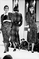 0245157 © Granger - Historical Picture ArchiveFASHION.   Germany, Berlin. Louis Feraud fashion show at KaDeWe department store. 12.09.1985.