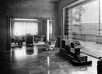 0245546 © Granger - Historical Picture ArchiveLIFESTYLE.   Living room in the Villa Zissu in Berlin Grunewald, Gustav-Freytag-Strasse 12 - the bedroom. Architect: Michael Rachlis, picture taken by Martin Munkacsi 1931.