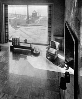 0245550 © Granger - Historical Picture ArchiveLIFESTYLE.   Room in the Villa Zissu in Berlin Grunewald, Gustav-Freytag-Strasse 12 - the bedroom. Architect: Michael Rachlis, picture taken by Martin Munkacsi 1931.
