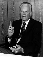 0245709 © Granger - Historical Picture ArchiveBILLY GRAHAM (1918- ).   William Franklin Graham. American evangelist. Photographed in 1993. Full credit: ullstein bild - Fotoagentur imo / Granger, NYC -- All rights reserved.