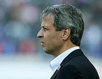 0261149 © Granger - Historical Picture ArchiveLUCIEN FAVRE .   Lucien Favre - Coach, Hertha BSC Berlin, Switzerland - 22.09.2007 *** Local Caption *** 00948745. contrast/Pollack - ullstein bild / Granger, NYC -- All rights res