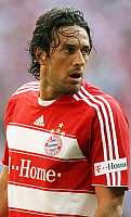 0261294 © Granger - Historical Picture ArchiveLUCA TONI.   Toni, Luca - Soccer, Striker, FC Bayern Munich, Italia - looking round - 31.08.2008 *** Local Caption *** 01014489. contrast/Pollack - ullstein bild / Granger, NYC -- All Rights Reserved.