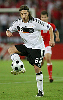 0261296 © Granger - Historical Picture ArchiveAUSTRIA .   Austria - Wien Vienna: UEFA EURO 2008 - Group B, Austria v Germany - Torsten Frings of Germany in action on the ball - 16.06.2008 *** Local Caption *** 00994186. contrast/Pollack - ullstein bild / Granger, NYC -- All rights rese
