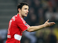 0261464 © Granger - Historical Picture ArchiveMARK VAN BOMMEL .   Mark van Bommel - Soccer, Midfielder, FC Bayern Munich, Netherlands - 28.10.2007 *** Local Caption *** 00955246. Pressefoto Ulmer - ullstein bild / Granger, NYC -- All Rights Reserved.
