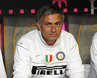 0261943 © Granger - Historical Picture ArchiveJOSE MOURINHO.   Mourinho, Jose - Soccer, Coach, FC Internazionale Milano, Portugal - 05.08.2008 *** Local Caption *** 01015788. Team 2 - ullstein bild / Granger, NYC -- All rights