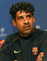 0261980 © Granger - Historical Picture ArchiveFRANK RIJKAARD .   Frank Rijkaard - Soccer, Coach, FC Barcelona, Netherlands - 31.03.2008 *** Local Caption *** 00971861. Team 2 - ullstein bild / Granger, NYC -- All rights reserv