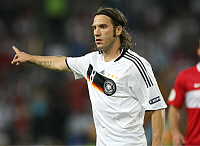 0262015 © Granger - Historical Picture ArchiveSWITZERLAND .   Switzerland - Basel: UEFA EURO 2008 - Semi-Final, Germany v Turkey 3:2 - Torsten Frings of Germany - 25.06.2008 *** Local Caption *** 00993829. Team 2 - ullstein bild / Granger, NYC -- All rights reserved.