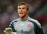 0262169 © Granger - Historical Picture ArchiveMICHAL RENSING .   Michal Rensing - goalkeeper, FC Bayern Muenchen, Germany - 25.07.2007 *** Local Caption *** 00923056. Team 2 - ullstein bild / Granger, NYC -- All rights reserve