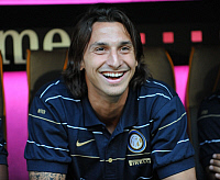 0262241 © Granger - Historical Picture ArchiveZLATAN IBRAHIMOVIC.   Ibrahimovic, Zlatan - Soccer, Striker, FC Internazionale Milano, Sweden - 05.08.2008 *** Local Caption *** 01025541. Team 2 - ullstein bild / Granger, NYC -- All Rights Reserved.