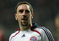 0262392 © Granger - Historical Picture ArchiveFRANCK RIBERY.   Ribery, Franck - Soccer, Midfielder, FC Bayern Munich, France - 16.04.2008 *** Local Caption *** 00975826. Team 2 - ullstein bild / Granger, NYC -- All rights rese