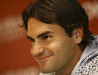 0262536 © Granger - Historical Picture ArchiveROGER FEDERER.   Federer, Roger - Tennis Player, Switzerland - 16.05.2008 *** Local Caption *** 00981881. Bergmann - ullstein bild / Granger, NYC -- All rights reserved.