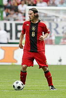 0262735 © Granger - Historical Picture ArchiveTORSTEN FRINGS.   Frings, Torsten - Soccer, Midfielder, National Team, Germany - in action on the ball - 27.05.2008 *** Local Caption *** 00981852. contrast/Behrend - ullstein bild / Granger, NYC -- All rights reserved.