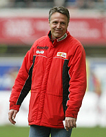 0262917 © Granger - Historical Picture ArchiveUWE NEUHAUS.   Neuhaus, Uwe - Fussball, Coach, 1. FC Union Berlin, Germany - 05.04.2009. Pollack / contrast - ullstein bild / Granger, NYC -- All rights reserved.
