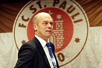0263103 © Granger - Historical Picture ArchiveCORNY LITTMANN.   Littmann, Corny - Soccer, President, FC St. Pauli, Germany - 16.11.2009 No-commercial-use! Not-available-for-Axel-Springer! . Public Address - ullstein bild / Granger, NYC -- All Rights Reserved.