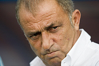 0263457 © Granger - Historical Picture ArchiveSWITZERLAND .   Switzerland - Basel: UEFA EURO 2008 - Semi-Final, Germany v Turkey 3:2 - Turkish national team coach Fatih Terim - 25.06.2008 *** Local Caption *** 00993865. Sven Simon - ullstein bild / Granger, NYC -- All rights reserved.
